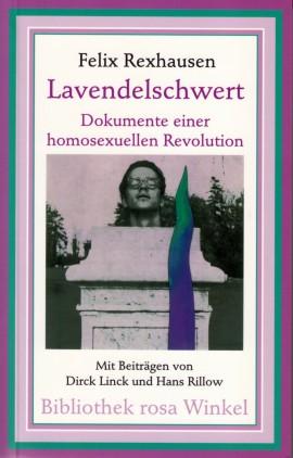 Cover des 1999 neu aufgelegten Rexhausen-Buches 'Lavendelschwert'