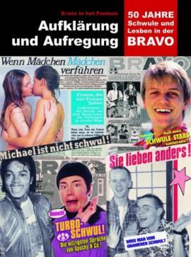 """Buch """"Aufklärung und Aufregung - 50 Jahres Schwule und Lesben in der BRAVO""""; Cover: Archiv der Jugendkulturen"""