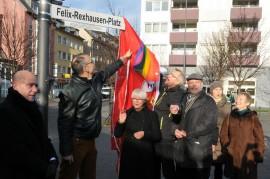Einweihung Felix-Rexhausen-Platz, Köln
