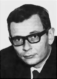 Porträt von Felix Rexhausen aus dem Jahr 1967; Foto: Georgia-Gembardt 1967