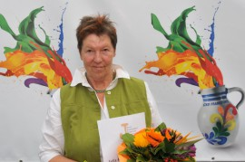 Monika Mengel gewinnt Felix-Rexhausen-Preis 2014; Foto: Axel Bach
