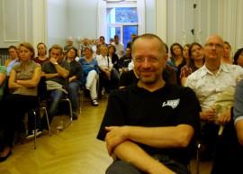 Blick ins Publikum bei der BLSJ-Podiumsdiskussion