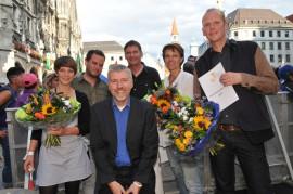 Rexhausen-Preis-Nominierte 2012; Foto: Axel Bach