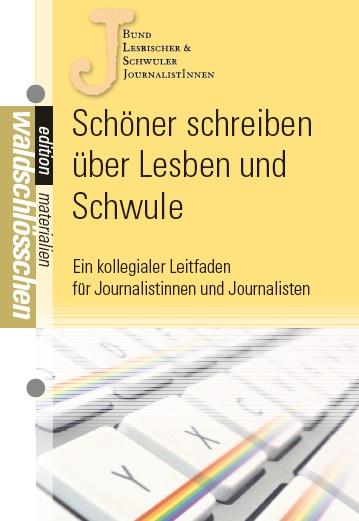 """Die Broschüre """"Schöner schreiben über Lesben und Schwule"""""""