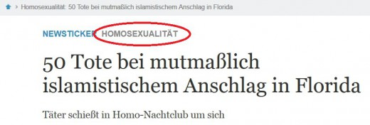 Screenshot von welt.de