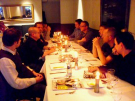 Schnappschuss vom Hamburger BLSJ-Stammtisch (Mai 2010)